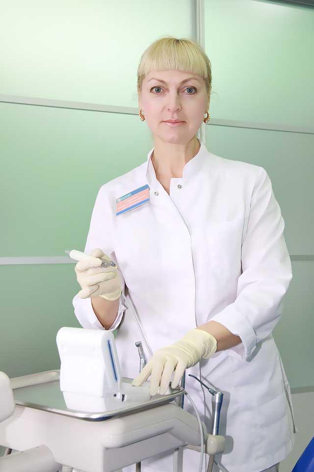 Стоматолог Слонская Наталья Владимировна